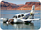cross marine recovers rulon gardner airplane lake powell
