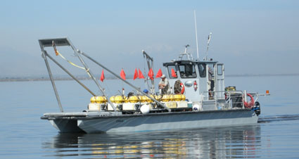 cross marine salton sea boat