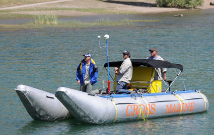 Tibble Fork Reservoir Marine Survey