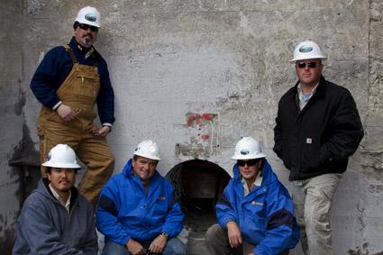 Grace Dam Drilling Crew