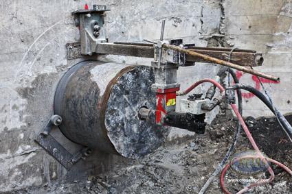 Grace Dam Drilling Machine
