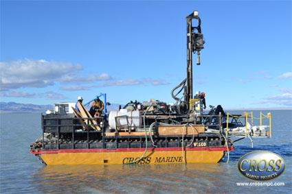 Lake Sevier Drilling Rig