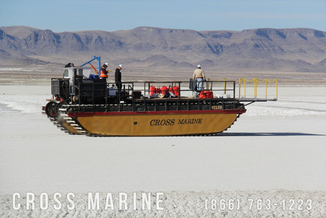 Amphibious Work Vessel Transport