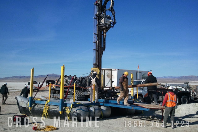 Marsh Drilling Rig