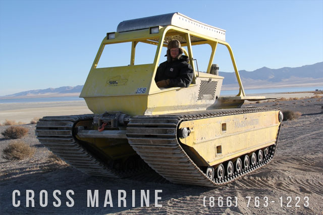Marsh Master Amphibious Vehicle