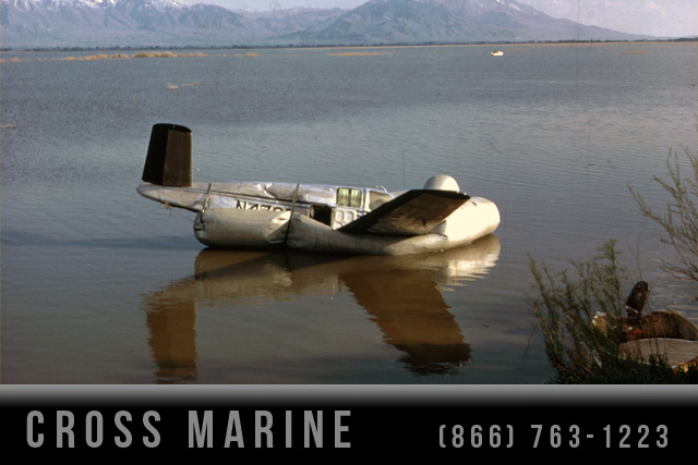 Aircraft Wreckage Removal From Lake