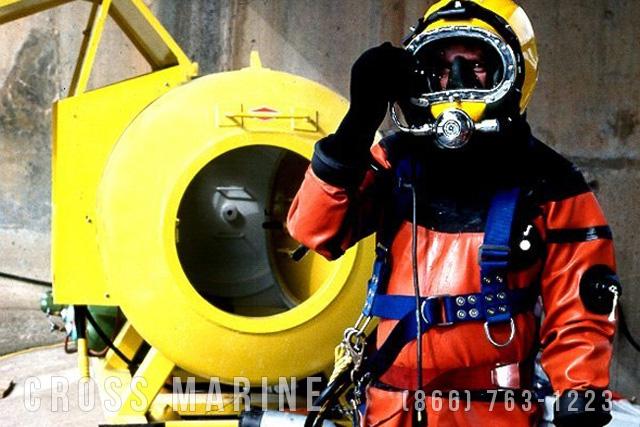 Commercial Divers Dam Inspection