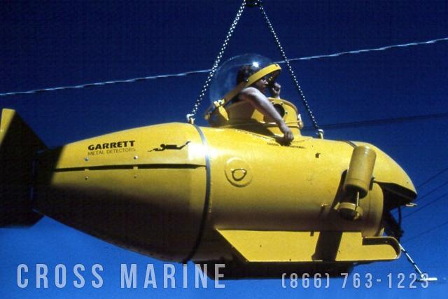 Small Marine Salvage Submarine