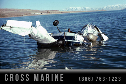 Crashed Airplane Recovered From Great Salt Lake