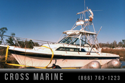 Hurricane Cleanup Boat Salvage