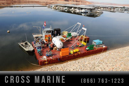 Marine Salvage Diving Barge
